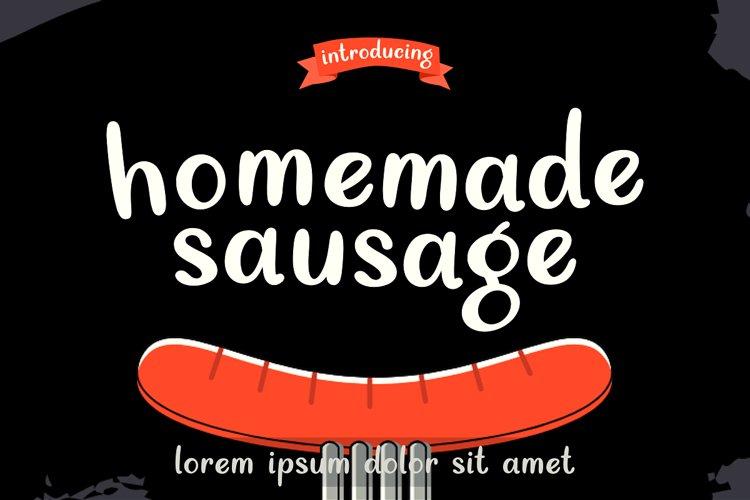 Homemade Sausage example image 1