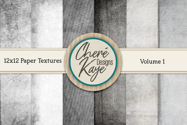 Paper Textures Volume 1 by Chere Kaye Designs