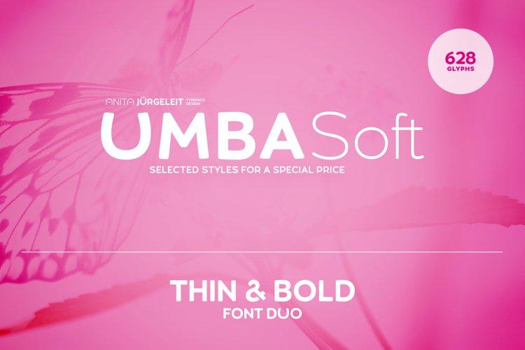 Umba Soft Thin & Bold example image 1