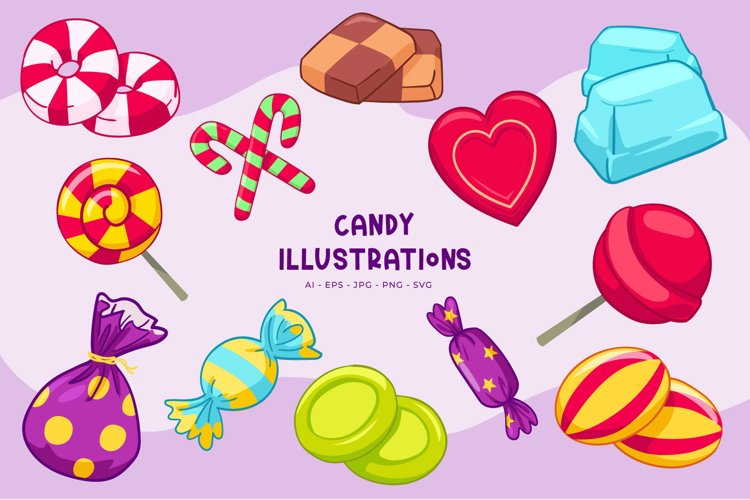 Candy illustrations