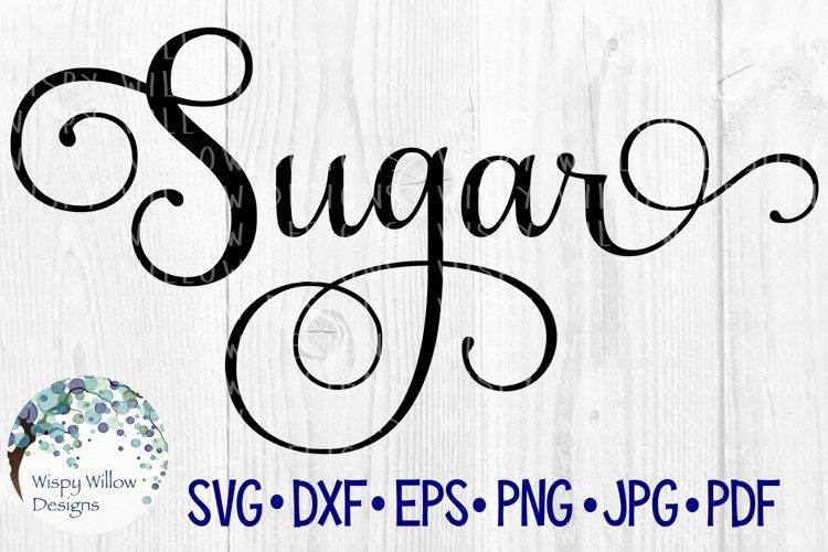 Sugar Label, Kitchen, Pantry, Cut File example image 1