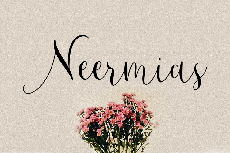Neermias Modern Calligraphy example image 1