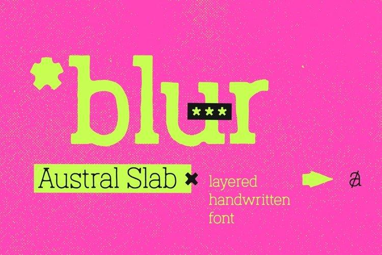 Austral Slab Blur example image 1