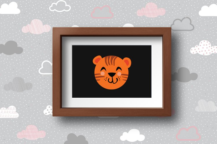 Cute Animals Characters Bundle example 1