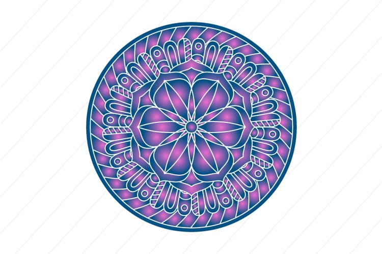 Mandala ornament vector image example image 1