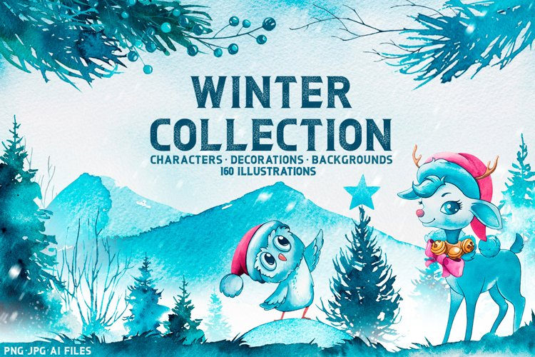 Winter collection example image 1