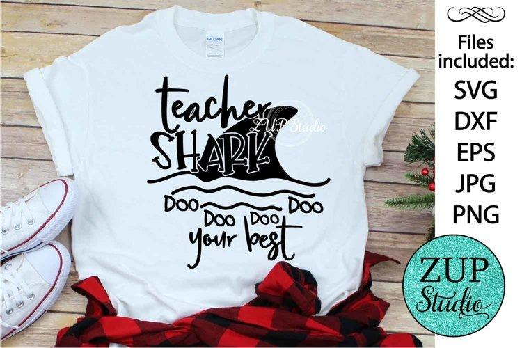 Teacher Shark SVG Digital Design Cutting files 509