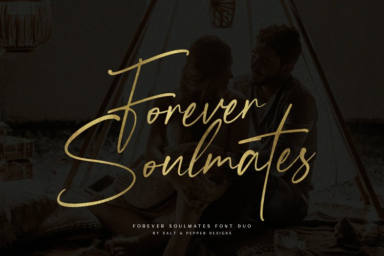 Forever Soulmates Font Duo example image 1