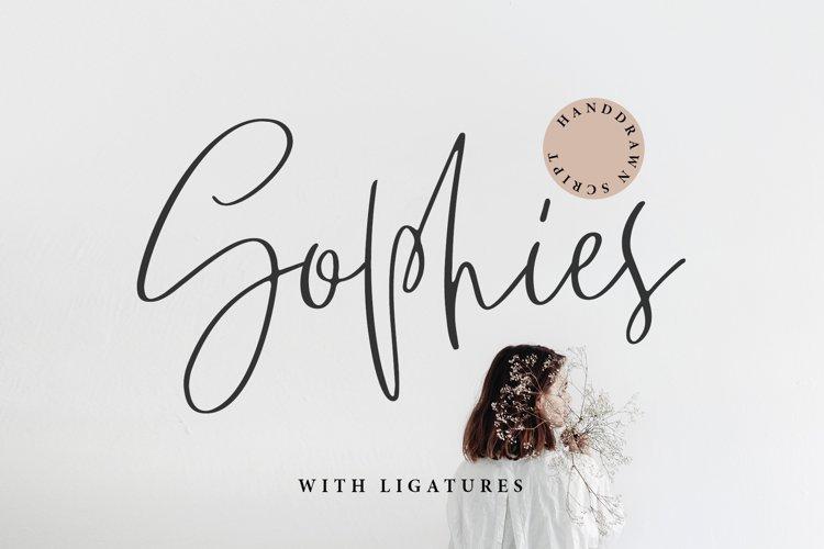 SOPHIES SCRIPT example image 1
