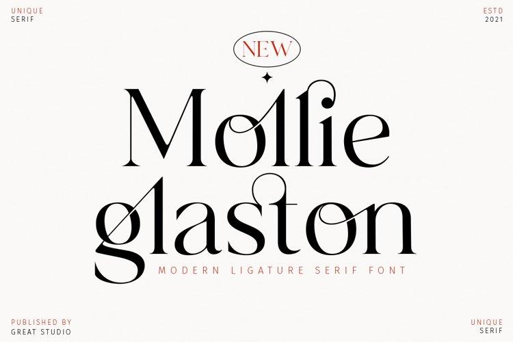 Mollie Glaston - Modern Ligature Serif