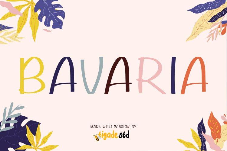Bavaria Webfont example image 1