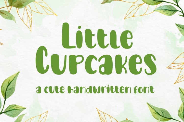 Little Cupcakes Font example image 1