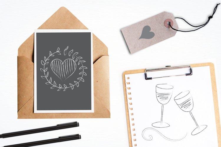 Chalkboard Doodles graphics and illustrations - Free Design of The Week Design2