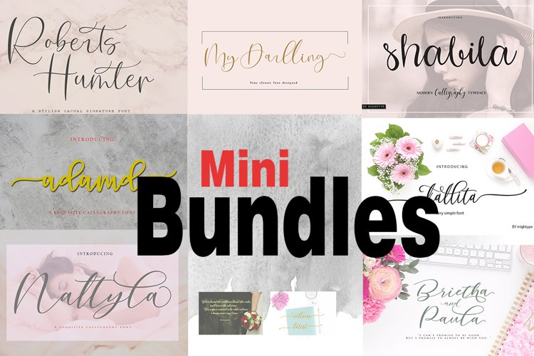 Mini Bundles example image 1