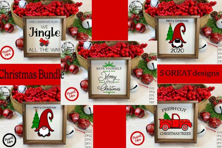Christmas Bundle! $5.00! SVG PNG DXF EPS PDF