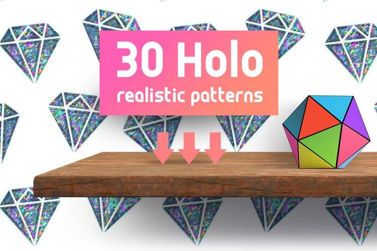 Pop Art Holographic Patterns