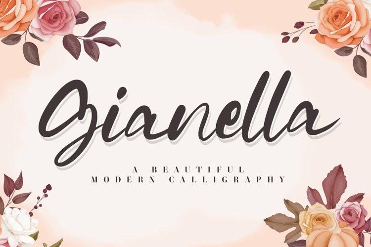 Gianella Script example image 1