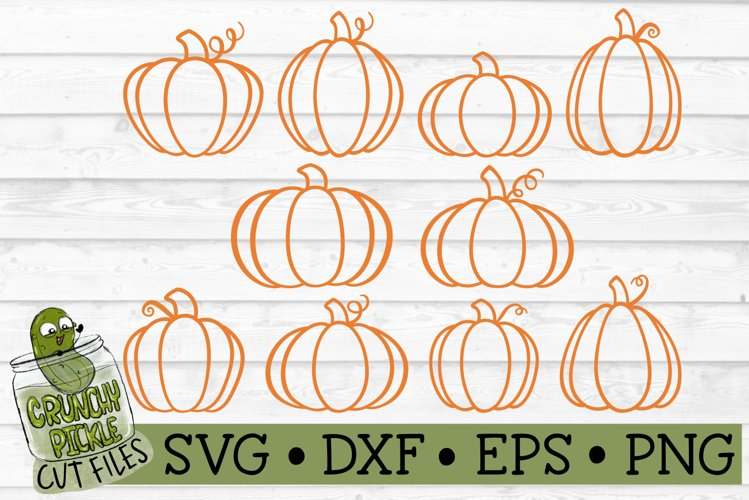 10 Little Pumpkins Mini SVG Bundle