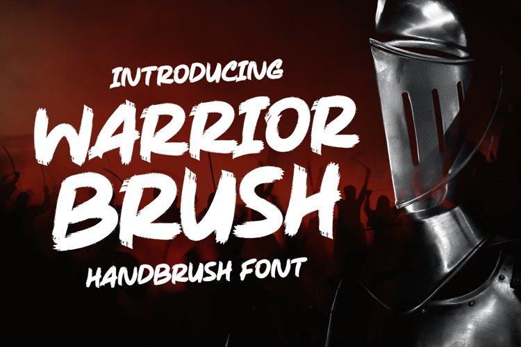 Warrior Brush - Strong Brush example image 1