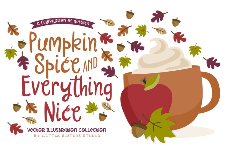 Pumpkin Spice - Autumn Illustrations example image 1