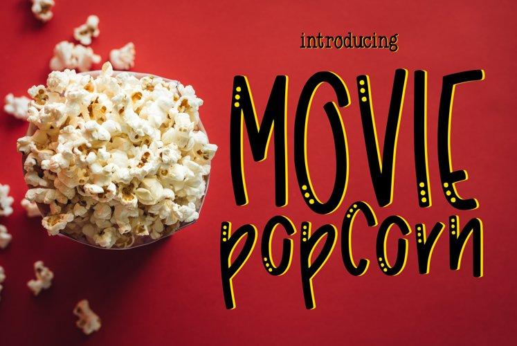 Movie Popcorn example image 1