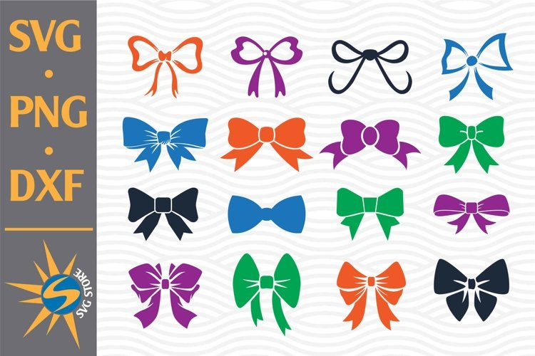 Bow SVG, PNG, DXF Digital Files Include