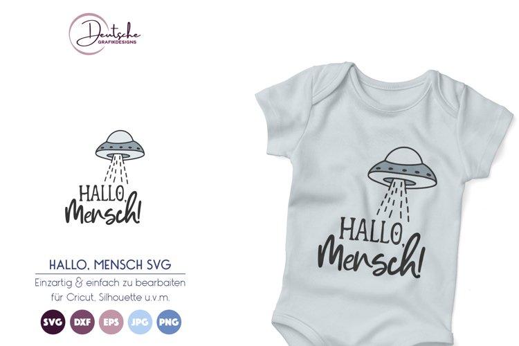 UFO SVG   Hallo Mensch SVG example image 1