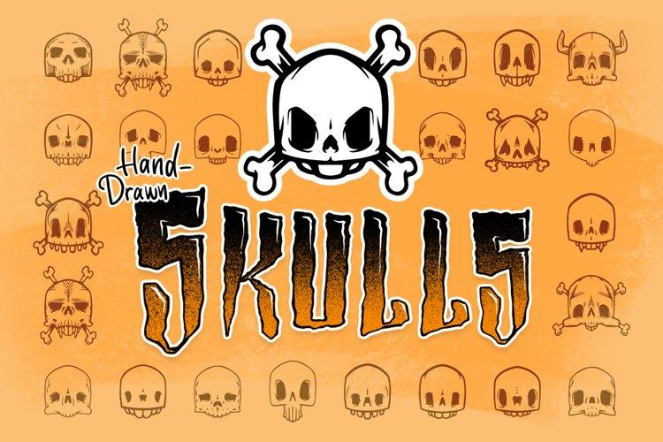 50 Hand-Drawn Skull Illustrations