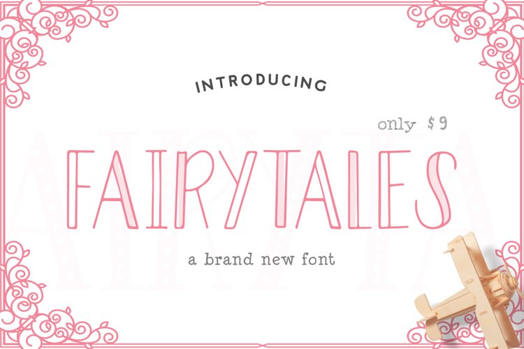 Fairytales Font example image 1