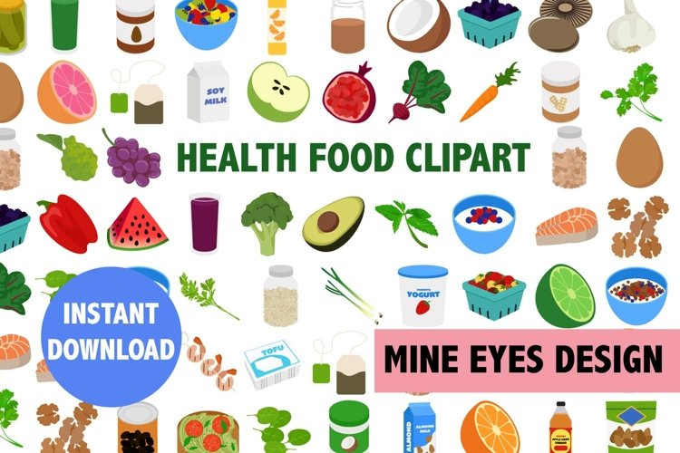 Health Food Clipart