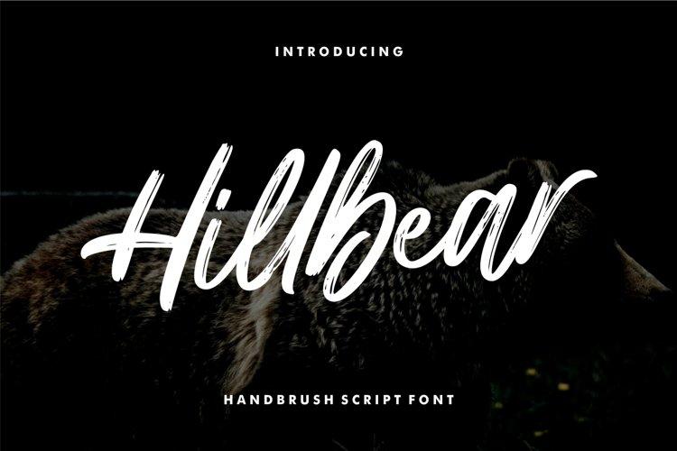 Hillbear - Handbrush Script Font example image 1