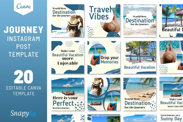 Journey Instagram Travel Template example image 1