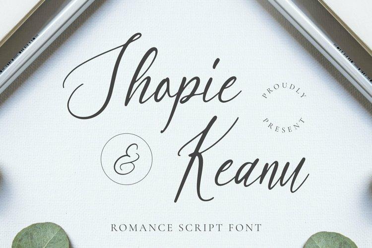 Web Font Shopie & Keanu Font example image 1