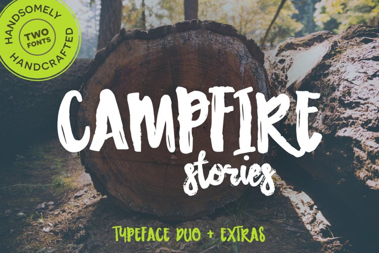 Campfire Stories Font Duo example image 1