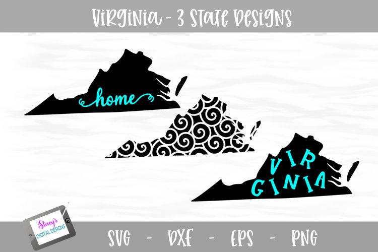 Virginia Mini Bundle - 3 Virginia State Designs