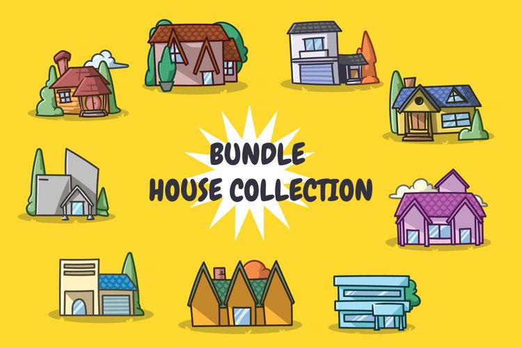 House collection illustration