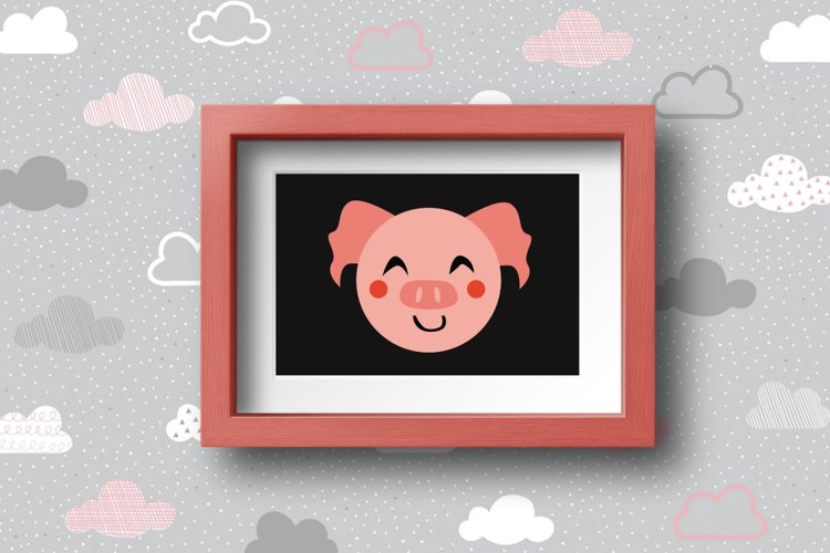 Cute Animals Characters Bundle example 4