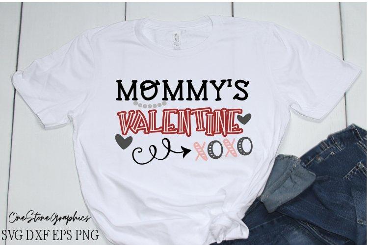 Valentines svg,Mommy's valentine svg,valentines day svg example image 1