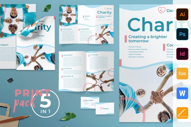 Charity Print Pack example image 1
