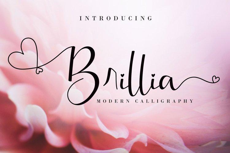 Brillia Calligraphy example image 1