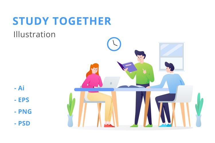 Study Group Illustration