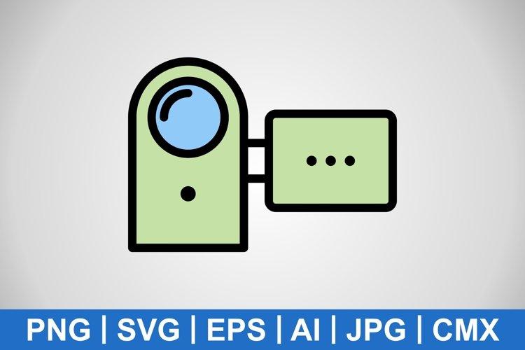 Vector Handy Cam Icon example image 1