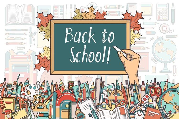 Back To School Supplies Bundle example image 1