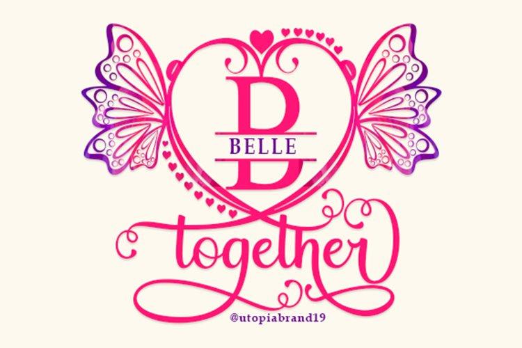 Belle Monogram example image 1