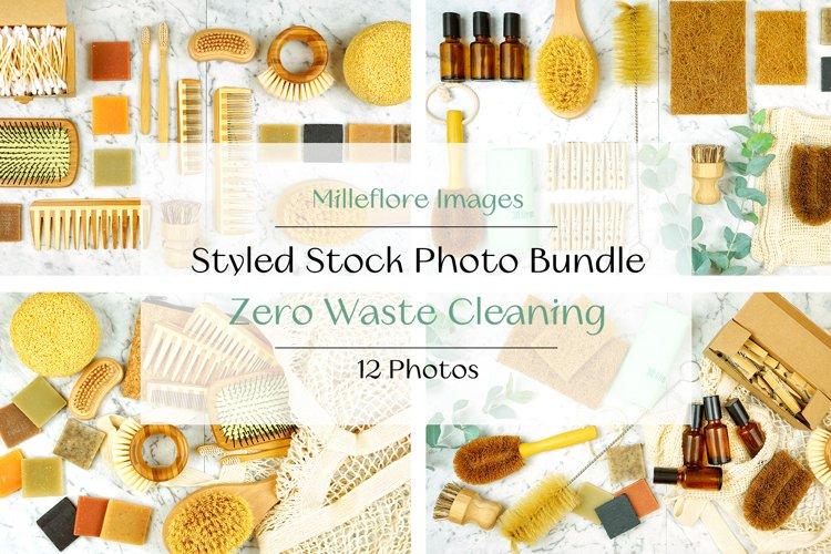 Zero Waste Plastic Free Cleaning Styled Stock Photo Bundle