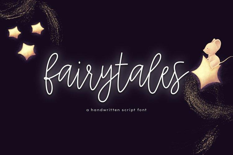 Fairytales - A Handwritten Script Font example image 1