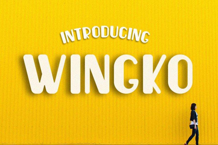 Wingko Fun example image 1