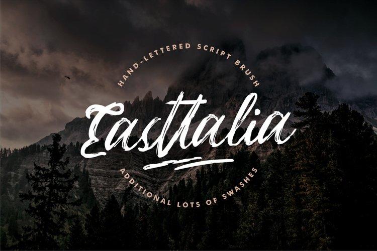 Easttalia Script Brush example image 1