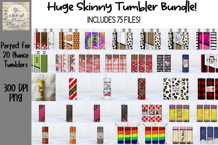 Huge Skinny Tumbler Bundle!, Over 75 Files!