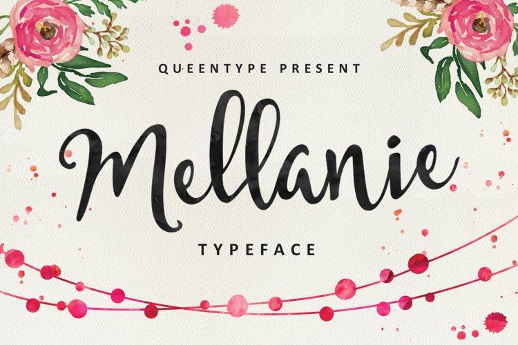 Mellanie Script example image 1